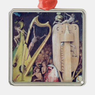 The Garden of Earthly Delights Metal Ornament
