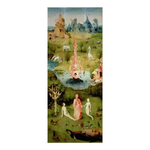 The Garden Of Earthly Delights Poster Zazzle