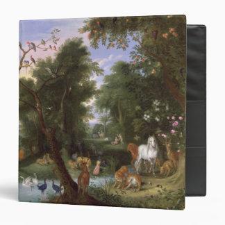 The Garden of Eden, 1659 3 Ring Binder