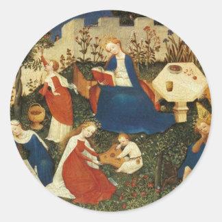 The Garden of Eden Classic Round Sticker