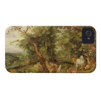 The Garden of Eden; in the background The Temptati iPhone 4 Case