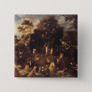 The Garden of Eden Pinback Button