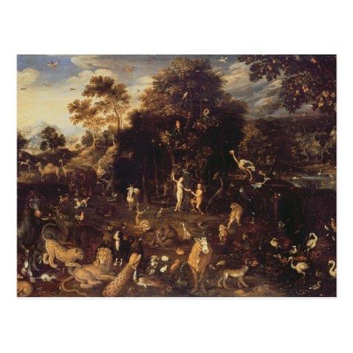 The Garden of Eden Postcards