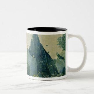 The Garden of Eden Two-Tone Coffee Mug