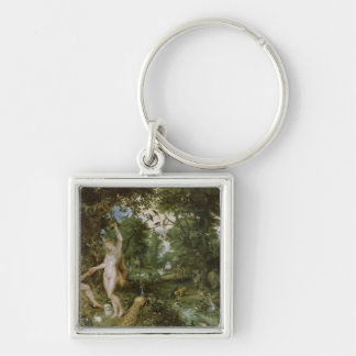 The Garden of Eden with the Fall of Man, c.1615 Key Chain