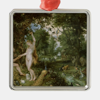 The Garden of Eden with the Fall of Man, c.1615 Metal Ornament