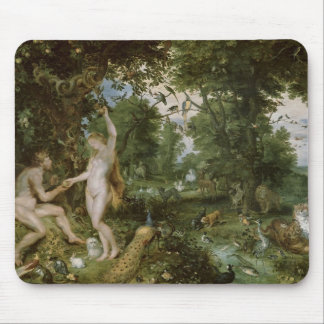 The Garden of Eden with the Fall of Man, c.1615 Mouse Pad