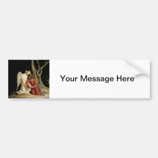 The Garden of Gethsemane (Luke 22:39-46) Bumper Sticker