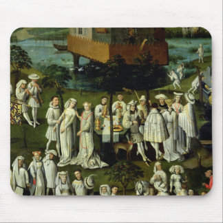 The Garden of Love at the Court of Philip the Mouse Pad
