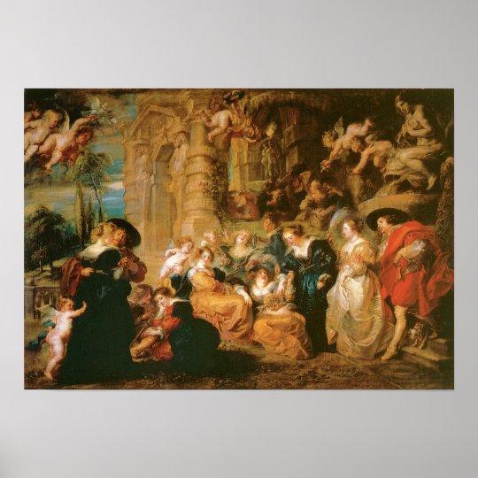 The Garden of Love, c. 1630-32 Poster