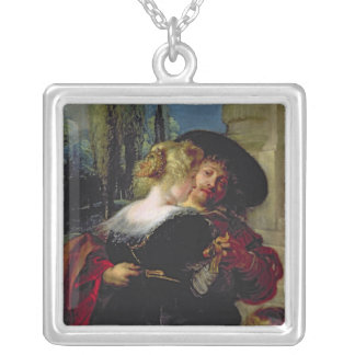 The Garden of Love, c.1630-32 Silver Plated Necklace