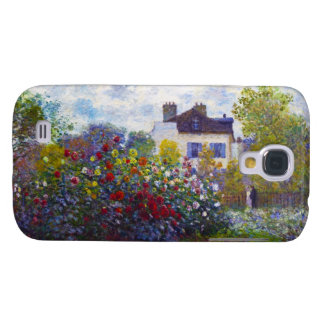 The Garden of Monet at Argenteuil Claude Monet Galaxy S4 Case