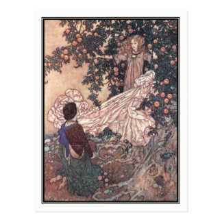 The Garden of Paradise by Edmund Dulac Postcard