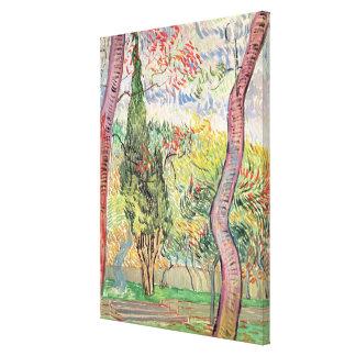 The Garden of St Paul s Hospital Gallery Wrap Canvas