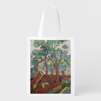 The Garden of St. Paul's Hospital Reusable Grocery Bags