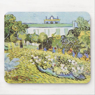 The garden of the Daubignys by Vincent van Gogh Mouse Pad