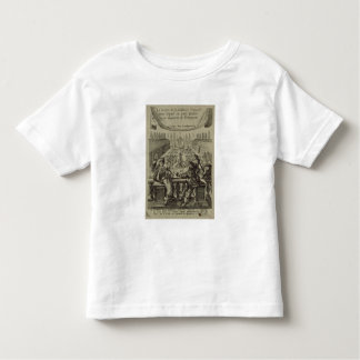 The garden of the French nobility, c.1640 (engravi T-shirts