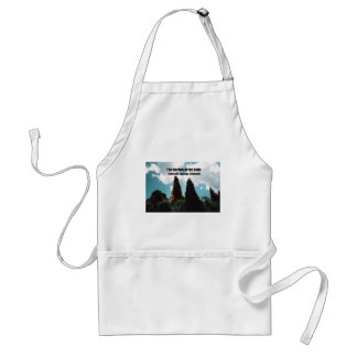 The Garden of the Gods Adult Apron