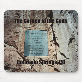 The Garden of the Gods Mouse Pad