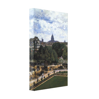 The Garden of the Infanta by Claude Monet Canvas Print
