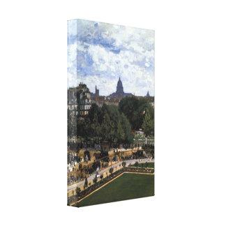The Garden of the Infanta by Claude Monet Canvas Print