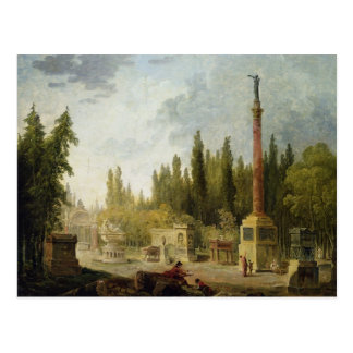 The Garden of the Musee des Monuments Francais Postcard