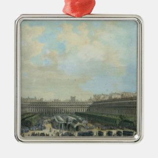 The Garden of the Palais Royal, 1791 Metal Ornament
