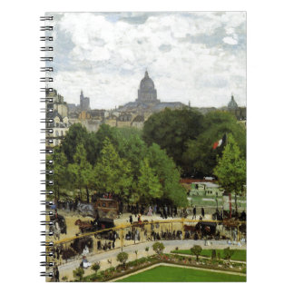 The Garden of the Princess by Claude Monet Notebook