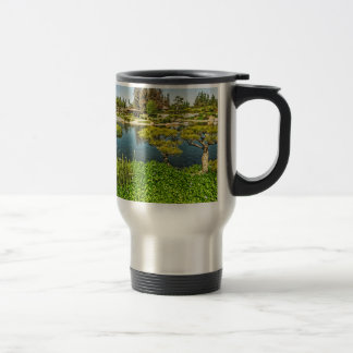 The Garden of Water and Fragrance 15 Oz Stainless Steel Travel Mug