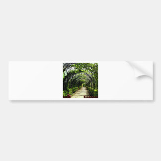 The Garden Path Bumper Sticker