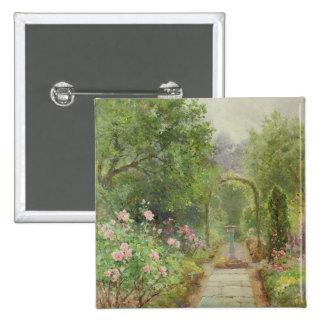 The Garden Path Pinback Button