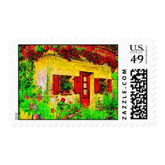 The Garden Postage Stamp