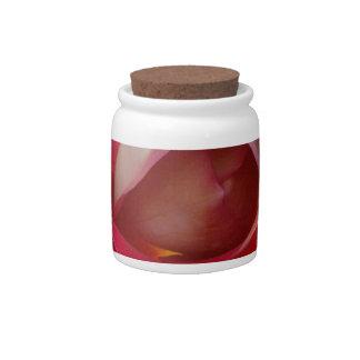 The garden rose candy jar