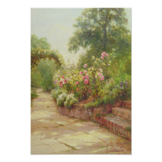 The Garden Steps Posters