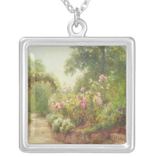 The Garden Steps Silver Plated Necklace