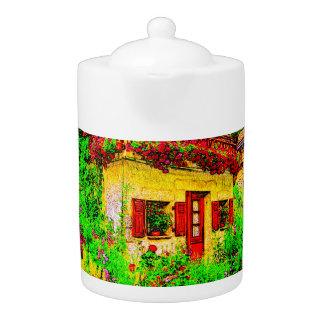 The Garden Teapot