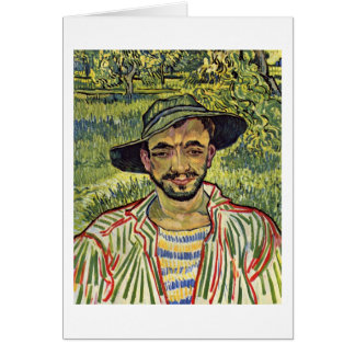 The Gardener By Vincent Van Gogh Cards