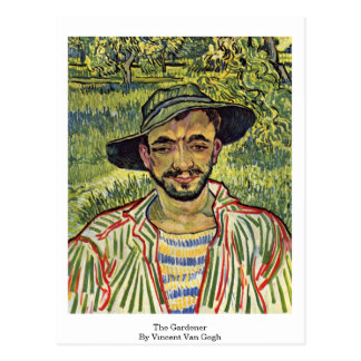 The Gardener By Vincent Van Gogh Post Cards