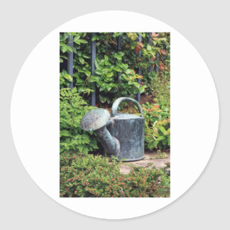 The gardener classic round sticker