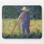 The Gardener - Georges Seurat Mouse Pad