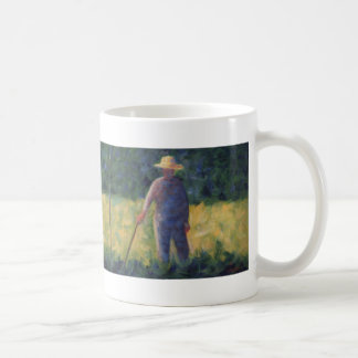 The Gardener - Georges Seurat Classic White Coffee Mug