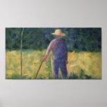 The Gardener - Georges Seurat Poster