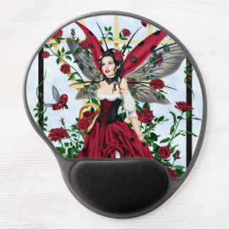 The Gardener - Ladybug Fairy Mousepad Gel Mouse Pads