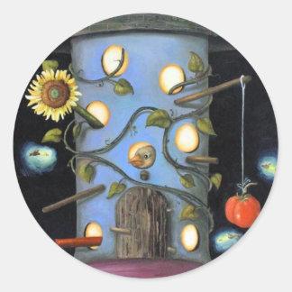 The Gardener Round Sticker