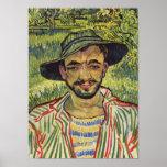 The Gardener - Vincent Van Gogh Posters