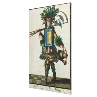 The Gardener's Costume Canvas Print