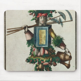 The Gardener's Costume Mouse Pad