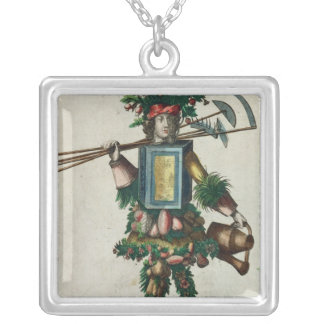 The Gardener's Costume Silver Plated Necklace