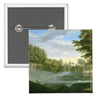 The Gardens at Chiswick House (See also companion Pinback Button