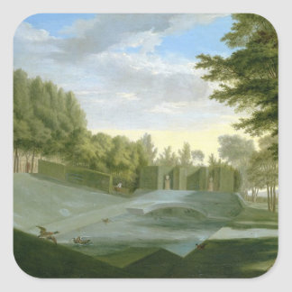 The Gardens at Chiswick House (See also companion Square Stickers